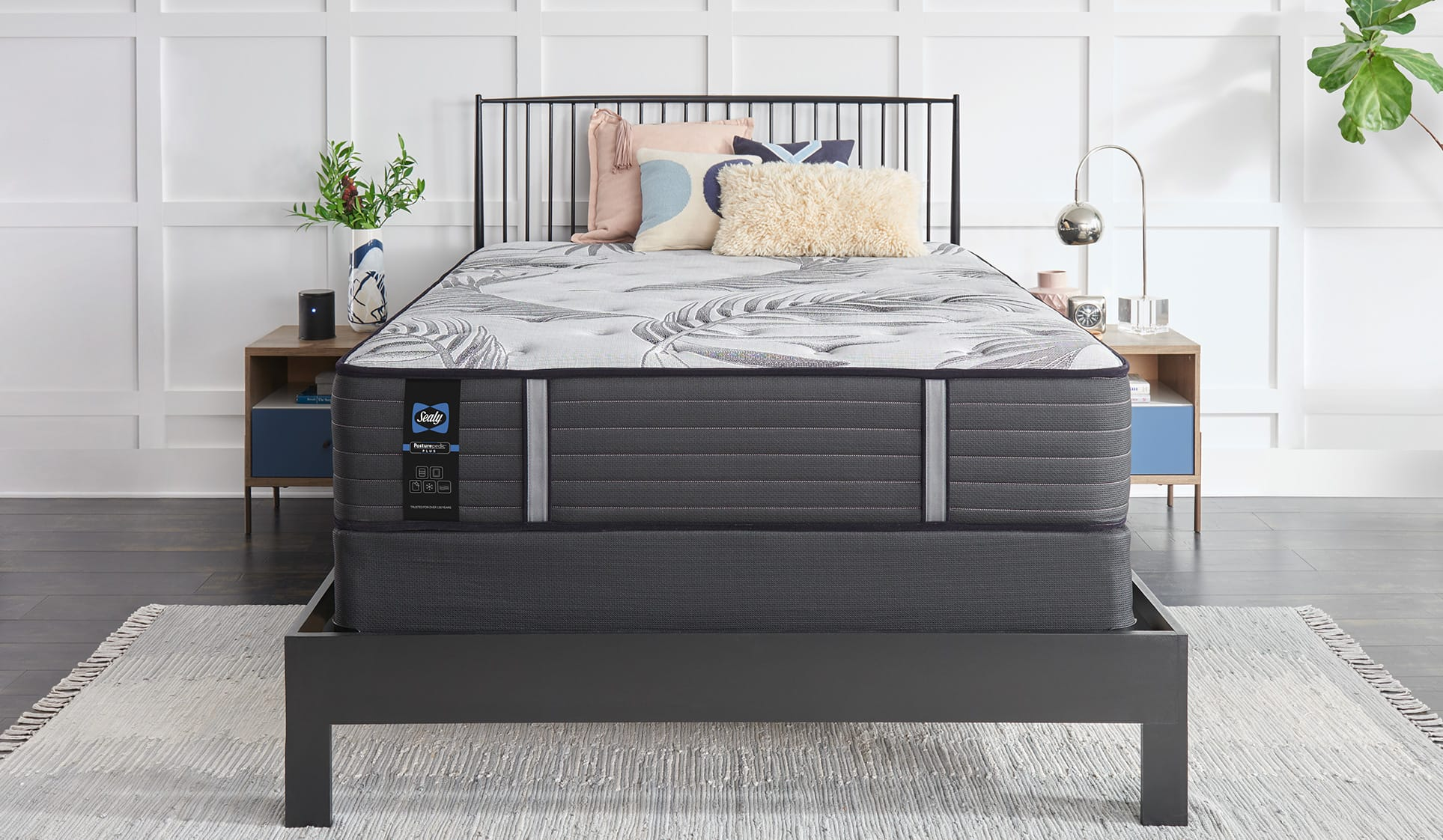 Sealy Posturepedic® Plus mattress in a bedroom