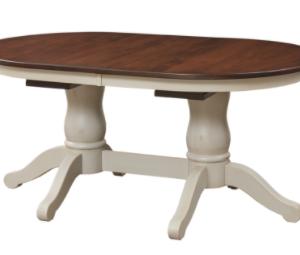 Napoleon Double Pedestal Table