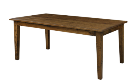 """Shaker Solid Top Table 42"""" X 72"""""""